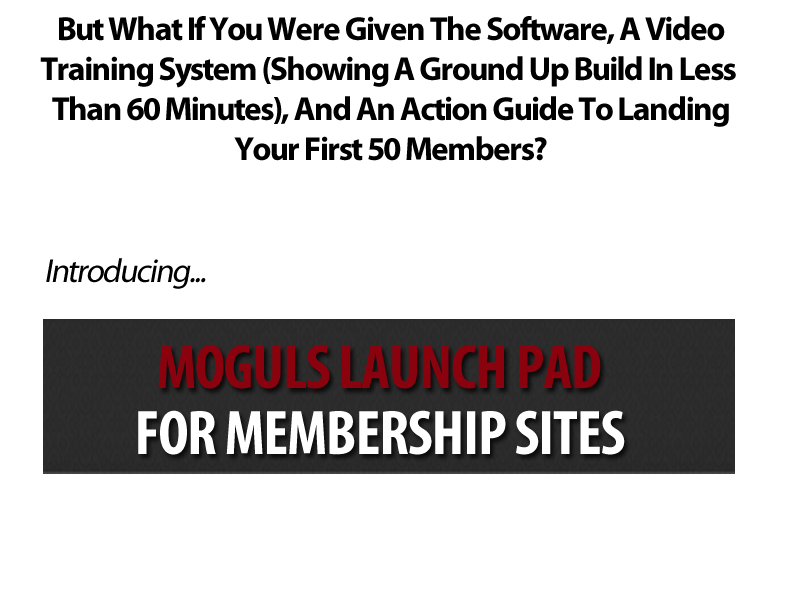 2nd headline1 [GET] Moguls Membership Site Launch Pad wso membership sites  Web Design and Development Twitter Paypal Online community Online advertising Money back guarantee Marketing Affiliate marketing